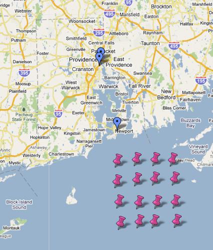 Rhode Island Map Screen Shot