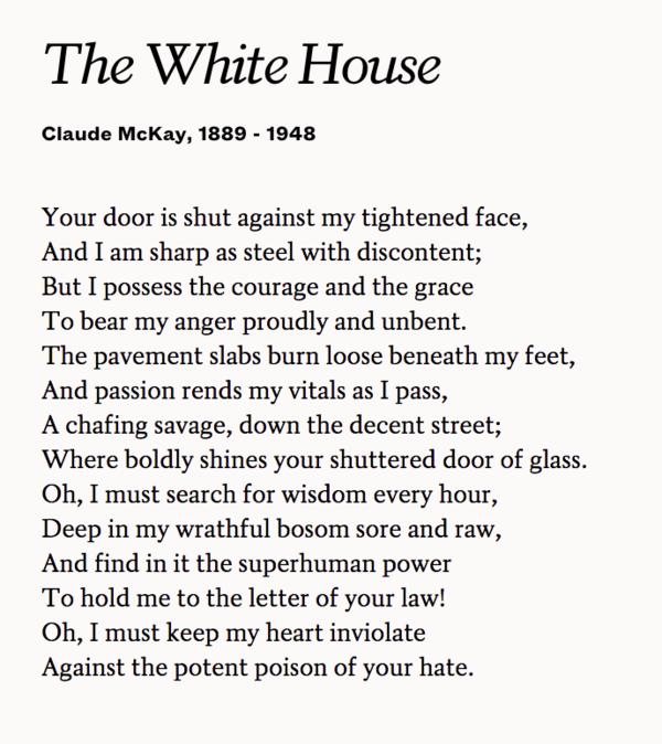 the white house mckay